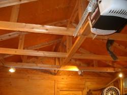 天井  ※写真は照明工事を施しています。